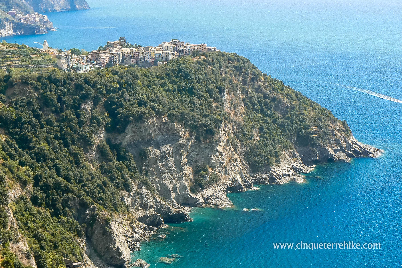 Corniglia Italy Map.The Azure Trail Corniglia Vernazza